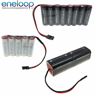 PANASONIC ENELOOP 4.8v 6v 7.2v 9.6v AA & AAA Receiver / Transmitter Battery Pack • 22.95£