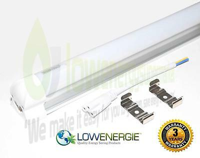 £10.49 • Buy Integrated LED Tube Light Energy Saving Fluorescent T8 T12 Ceiling Replacement