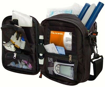 Elite Multi-Compartment Insulin And Diabetic Kit Cool Bag / Cooler Pouch • 28.49£