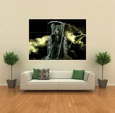 £14.99 • Buy Grim Reaper Gothic  New Giant Poster Wall Art Print Picture X1352
