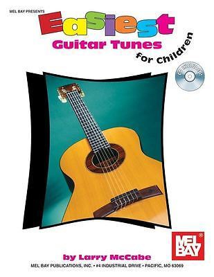 Larry McCabe: Easiest Guitar Tunes For Children (Book And CD) • 13.82£