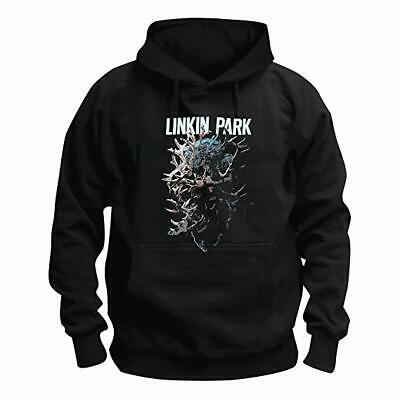£39.95 • Buy Linkin Park Stag Official Men's Black Pullover Hoodie