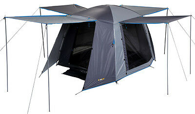 AU132.95 • Buy OZTRAIL ACTIVE 4P Dome Hiking 4 Man Person Tent  NEW