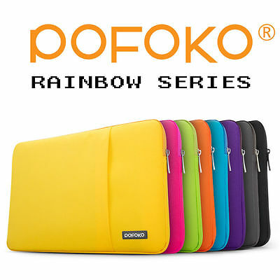 £12.22 • Buy 11 -17.3  Laptop Case Ultrabook Soft Sleeve Bag For MacBook Pro Air Acer HP Dell