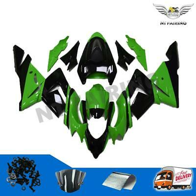 $509.99 • Buy Fairing Fit For Kawasaki ZX10R 2004-2005 Plastics Set Injection Green 04 05 F007