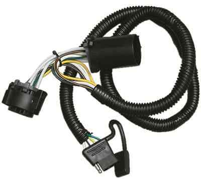 2009-2012 jeep liberty trailer hitch wiring kit w/ factory tow package t-