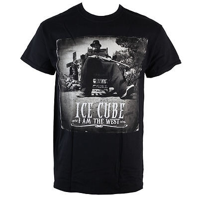 Official Ice Cube - I Am The West - Men's Black T-Shirt • 16.95£