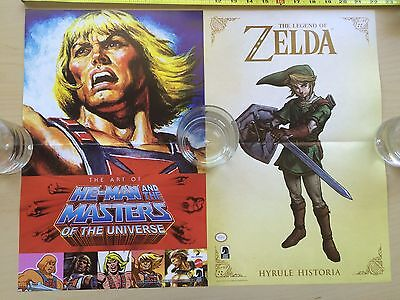 $12 • Buy He-Man Masters Of The Universe Poster 11  X 17  MOTU Zelda Link NYCC Dark Horse