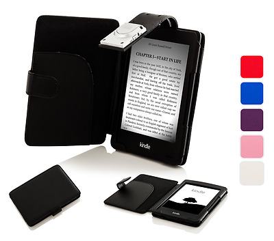 Forefront Cases Leather Smart Case Cover With Light Amazon Kindle 7th Gen (2014) • 10.99£