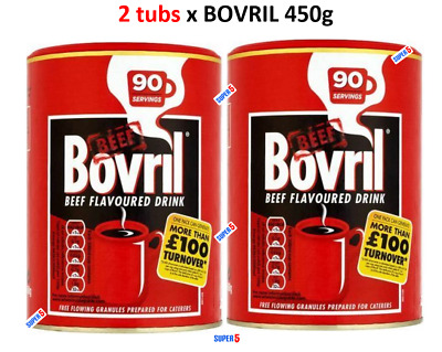 £19.99 • Buy Bovril Beef Flavoured Drink 2 Tubs X 450g Catering Tub Granules   180 SERVINGS  