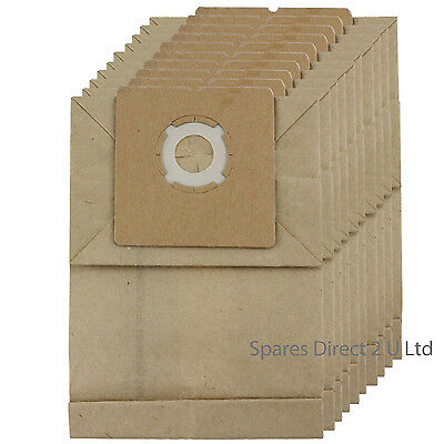 For ARGOS VALUE Vacuum Cleaner Hoover Dust Bags CS869-100 VC301 VC-05 X 10 Bags • 7.50£