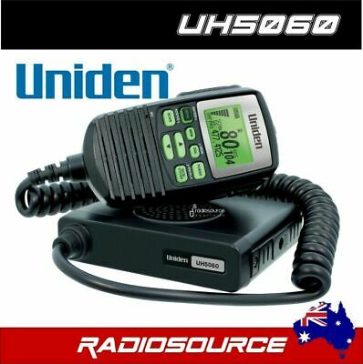 AU229 • Buy Uniden Uh5060 80 Channel Lcd Speaker Microphone Uhf Radio+cars Truck 4wd's