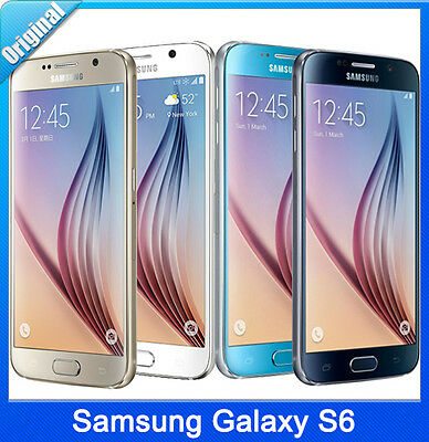$ CDN161.77 • Buy Samsung Galaxy S6 SM-G920F  32GB Smartphone(Factory Unlocked)-White Gold Black