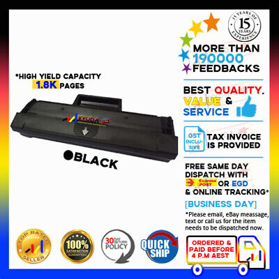 AU38 • Buy 2x MLT- D111S Toner For Samsung SL-M2020W / SL-M2070FW Printer 2000 Pages