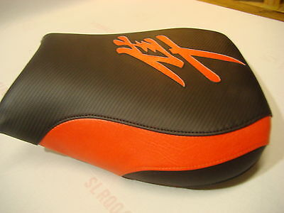 $62 • Buy Hayabusa 1999/00/01/02/03/04/05/06/07 Gsxr1300 Front Seat Cover  Black/fire Red