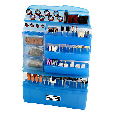 400pc Voche Mini Rotary Power Drill Hobby Accessory Kit Fits Dremel Multi Tool • 15.99£