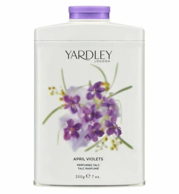 AU28.95 • Buy Yardley London - Perfumed Talc 200g APRIL VIOLETS Scented Body Talcum Powder