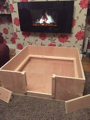 Whelping Box 90 Cm X 90 Cm Wood Whelping Box Free Local Delivery Or Postage • 110£