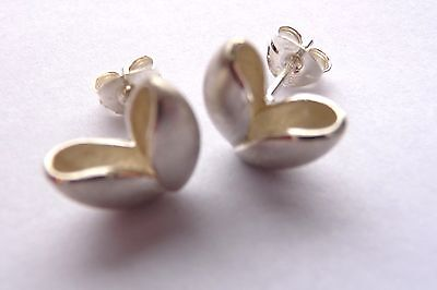 Ola Gorie 9ct Yellow Gold Pure Flower Earrings Boxed Scottish • 185£