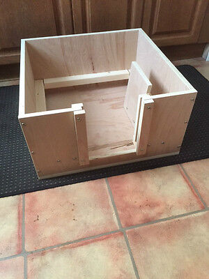 Whelping Box 76 Cm Square Approx. Wooden Box Free Local Delivery Or Postage • 80£