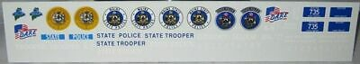 $3.50 • Buy Pursuit 1/24-25 Maine State Police Decals