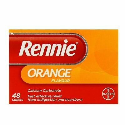 Rennie Orange Flavour Chewable Tablets - 48 • 7.73£