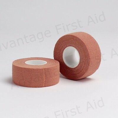 Fabric Strapping Heavy Duty Sports Finger Support Tape. Pink 2.5cm X 4.5m Qty 2 • 7.99£