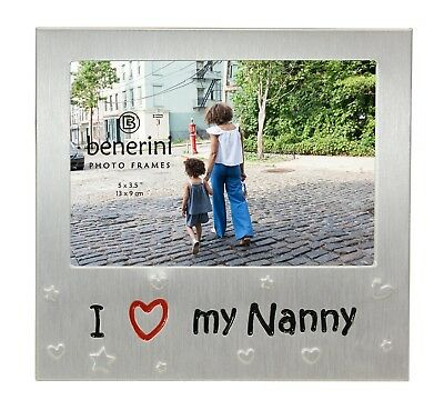 I Love My Nanny Photo Picture Frame Mothers Day Gift Birthdays Christmas Nan  • 5.90£