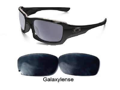 f2b36dfedb Galaxy Replacement Lenses For Oakley Fives Squared Sunglasses Black  Polarized • 5.96