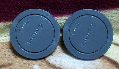 $ CDN2.60 • Buy 2x Camera Body Cap For Sony E-mount Camera NEX3/5/6/7 A6000 A7 A7R A7II A7S