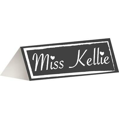 £4.79 • Buy Chalkboard Party Place Cards X 12