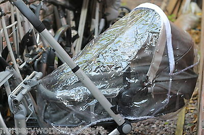 New Deluxe Raincover Rain Mothercare My 4 Or My 3 2 In 1 Pushchair Zip Access   • 21.99£