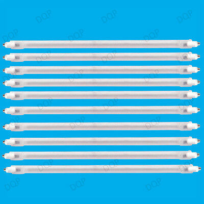 10x 400W Halogen Heater Replacement Tube 195mm Fire Bar Heater Lamp Element Bulb • 12.15£