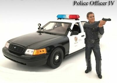 American Diorama 1/18 LAPD Style Police Officer Figure #4 - 24014 • 8.50$
