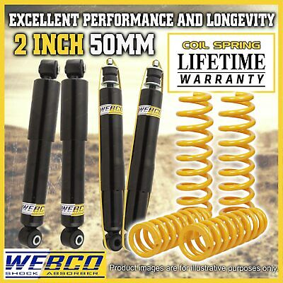 AU695 • Buy 2 Inch 50mm Lift Kit Shock Absorbers King Coil Springs For Suzuki Jimny SN413