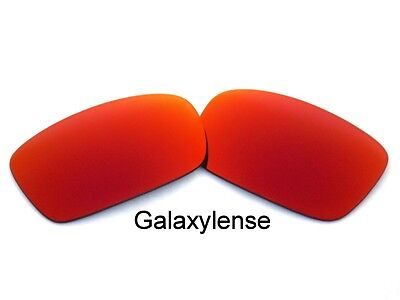 043360742b Galaxy Replacement Lenses For Oakley Crankcase Sunglasses Fire Red  Polarized • 7.02