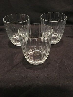 Crown Royal Whiskey Old Fashion Rock Glasses Etched Crown Pillow Vonpok 3 • 15$