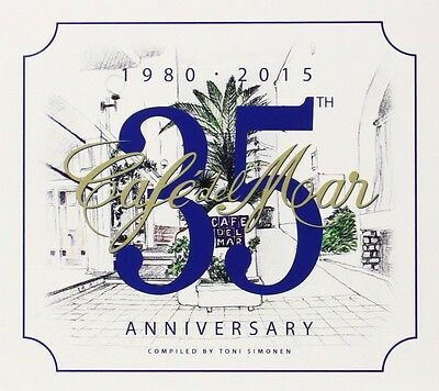 £56.23 • Buy Cafe Del Mar 35th Anniversary (cagedbaby, Raze, Aphex Twin, Moby, ...) 3 Cd New+