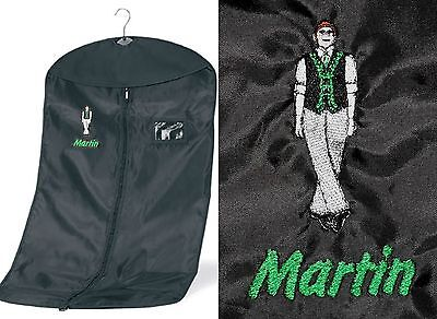 $18.44 • Buy Personalised Boy / Male Irish / Celtic Dance Garment Costume Bag - Any Name