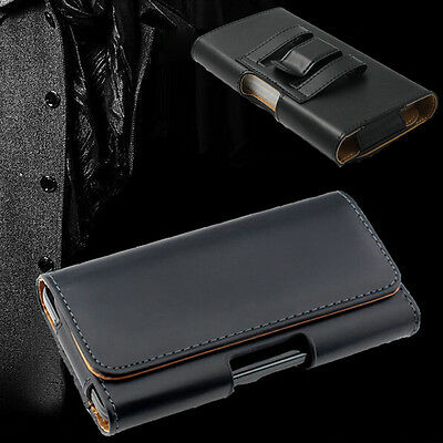 $ CDN7.54 • Buy Leather Belt Clip Holster Case Cover For IPhone 12 11 Pro XS Max 8 7&Samsung S10