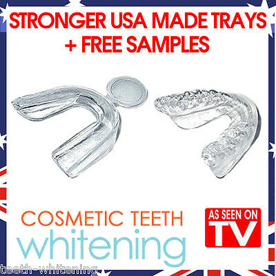 AU15.95 • Buy Teeth Whitening Mouth Tray Set (6 Trays) - High Quality Better Usa Made Guards