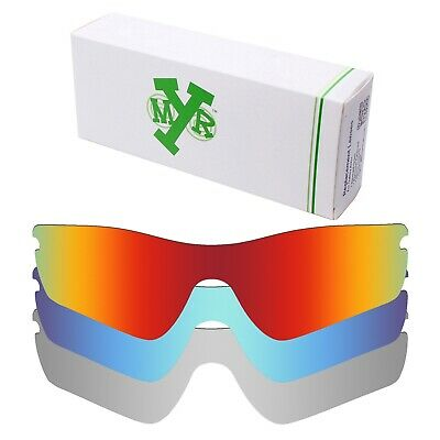 67c29211192 Mryok POLARIZED Replacement Lenses For-Oakley Radar Path Red   Blue    Silver • 34.98