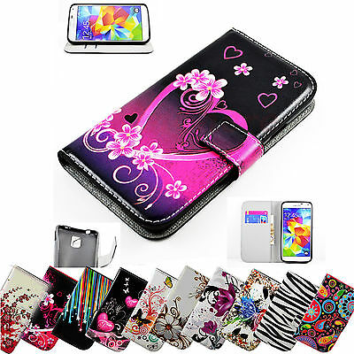 Women PU Leather Wallet Book Case Flip Cover Phone Accessories Stand For Samsung • 4.36£