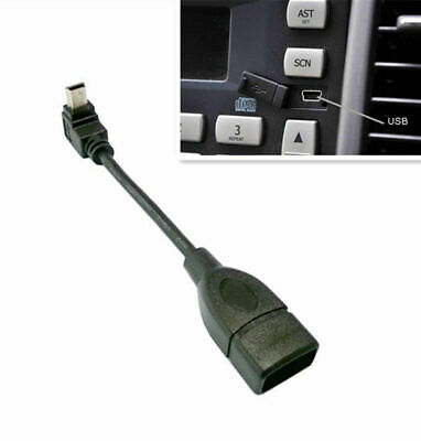 Down Angle Mini 5 Pin USB Male To USB 2.0 A Female Jack OTG Host Adapter Cable  • 3.50£