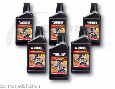 AU98.32 • Buy Yamalube 2R 2 Stroke High Performance Racing Oil 6 -32 Oz Bottles, 6 Quarts
