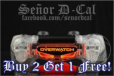 AU4.10 • Buy 1x Overwatch Title Style PS4 Controller Lightbar Decal Sticker