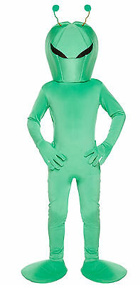 £12.29 • Buy Boys Child Alien Space Fancy Dress Dressing Up Outfit Costume Kids Age 4-12 Yrs