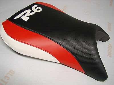 $51 • Buy YAMAHA 1999- 02 YZF R6 FRONT SEAT COVER Black/red/white 99 00 01 02