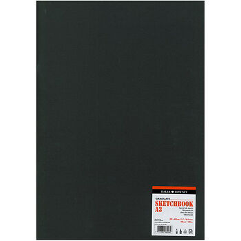 Daler Rowney : Graduate Stapled Softcover Sketchbook : 140gsm : 20 Sheets : A3 • 11.18£