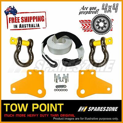 AU207 • Buy 1 Set Tow Point With Shackles And Bridle For Toyota Hilux N70 Kun26 05-on
